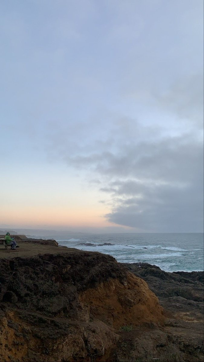 Our absolute favorite sunset spot!   #pointcabrillo #mendocino #norcal #northcoast #visitcalifornia #travelmore #hikemore #pacificcoast #pacificocean #leftcoast #westcoast #yesvisitcalifornia #sunset #sunsets #travel #bestcoast