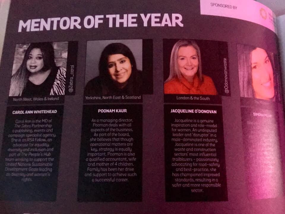 #onthisday @ForwardLadies  National Awards & Summit at the #RoyalArmouries, #Leeds - I won the #Mentor of the Year award. A fab video by yours truly dancing to 'The Eye of the Tiger' in existence somewhere 🤣 Huge thanks to @jcrombleholme  and the @AllianceMBS for hosting me 🙏🏽