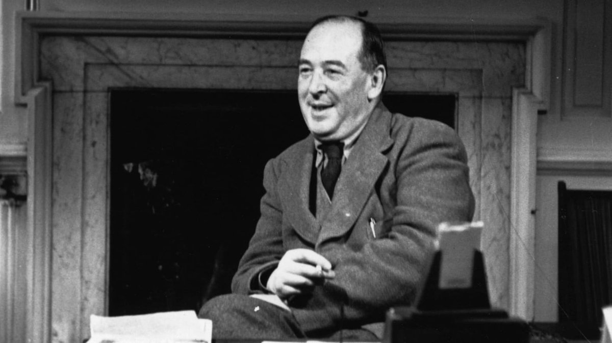 """""""Friendship is born at that moment when one person says to another: What! You too? I thought I was the only one."""" ✒ British writer and theologian #CSLewis, author of """"Chronicles Of Narnia"""", was born #onthisday 29 November 1898. #Fantasy #Literature"""