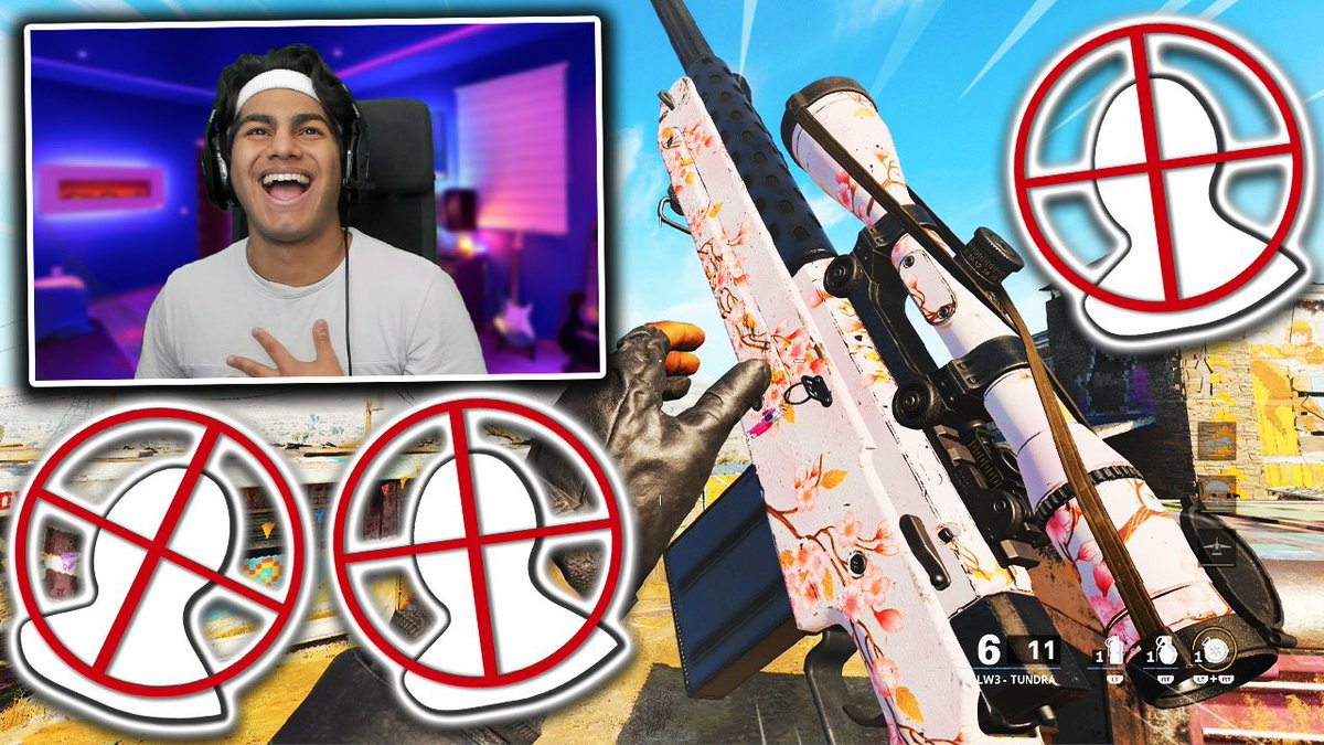Req - Made the thumbnail in under 5 mins but it actually came out fire lmao... all the years of Trickshot thumbnails on cod made it easy cause sniping thumbnails are so similar
