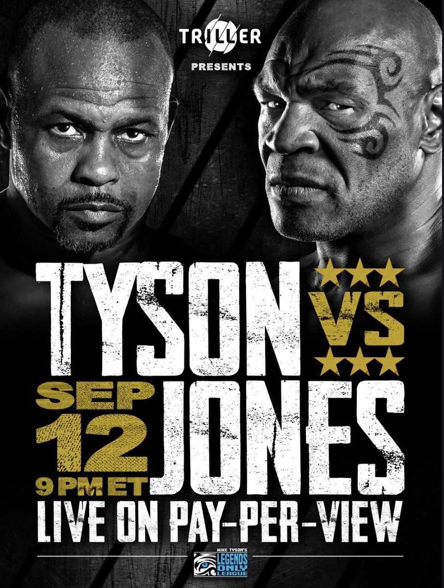 I almost didn't think this night would come, but here it is. Let the spectacle begin. #tysonvsjones @Triller #Boxing #IronMike
