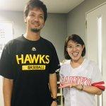 Image for the Tweet beginning: #ソフトバンクホークス 日本一おめでとうございます  昨年ご縁があり #ベースボールキッズ のお手伝いをさせていただいた。プログラムを一緒に進めていた #新垣渚さん が遠投する姿を間近で見せてくださったり。