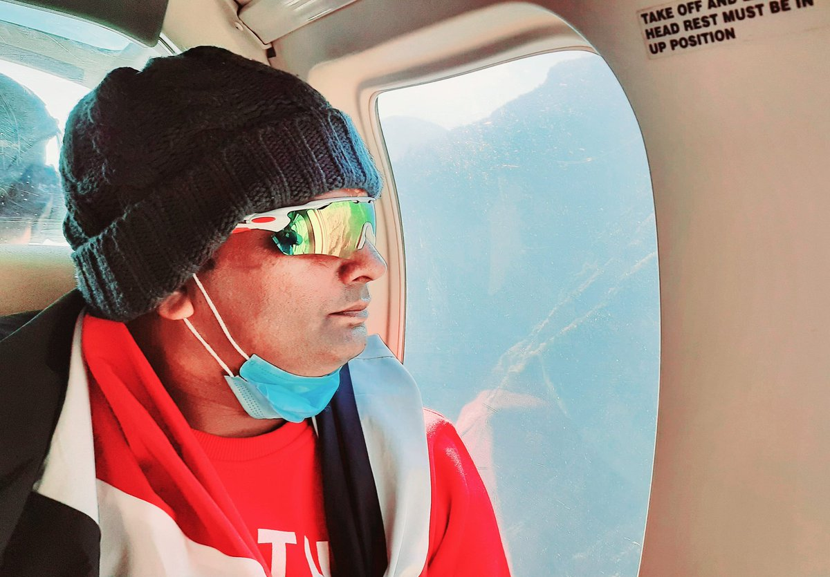 #Himalaya #Himalayas #Helicopter #yatra #2020 https://t.co/CwvxaCKe6l