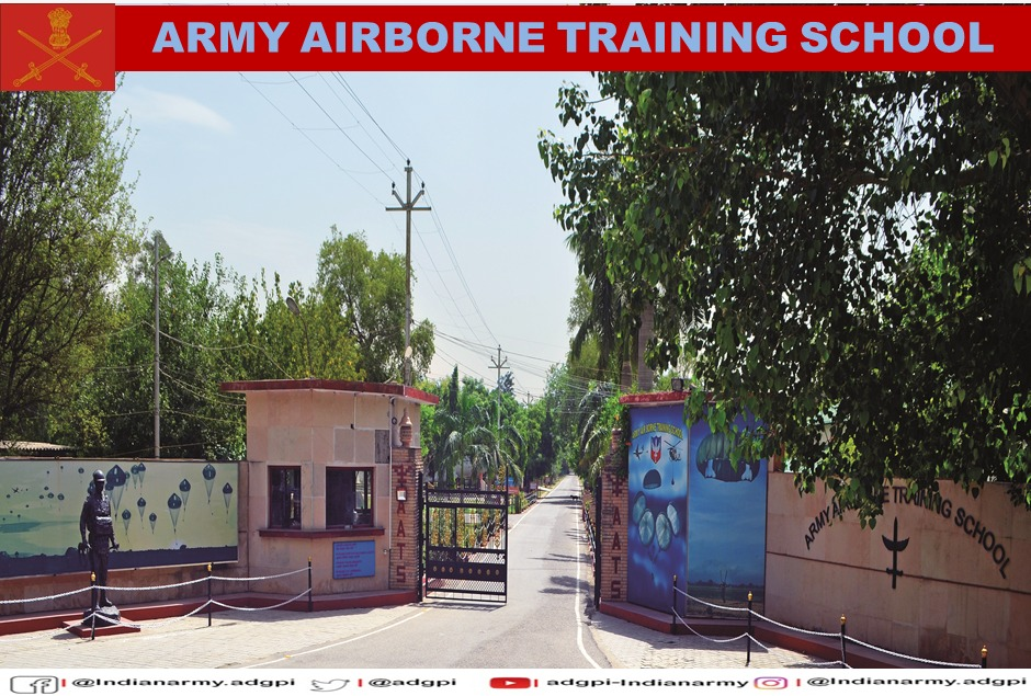 The Army Airborne Training School #AATS, #Agra imparts training in aerial delivery and air transportation of men and material. It also carries out research and trials pertaining to air portability and para dropping of various types of equipment.  #KnowYourArmy  #IndianArmy