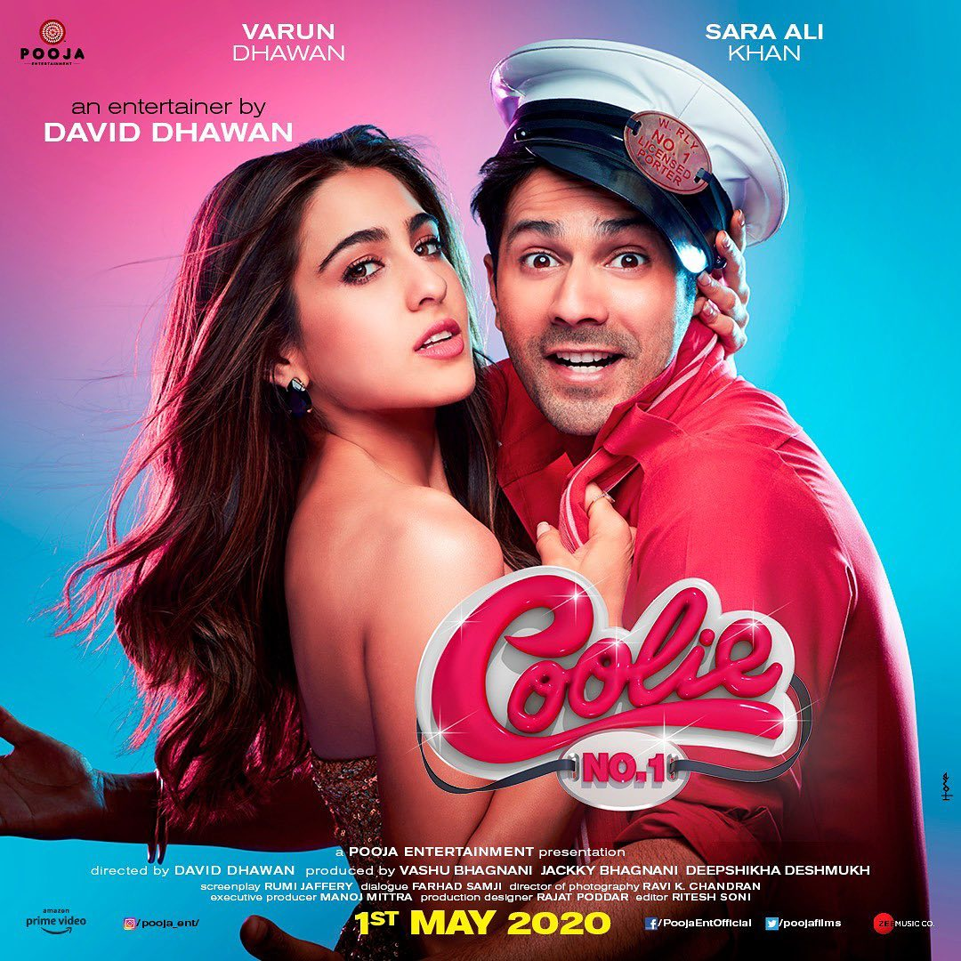 Varun Dhawan's Coolie number 1 is set to release on christmas 2020  #VarunDhawan #SaraAliKhan  #DavidDhawan #CoolieNo1 #CoolieNo1OnPrime #AmazonPrime