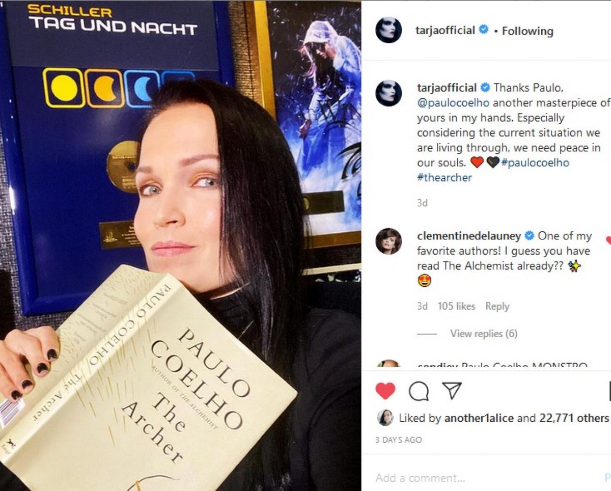 Thank you great muse @tarjaofficial