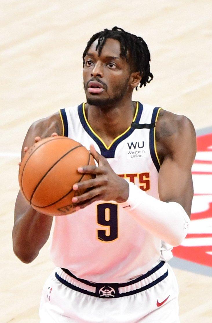 Detroit Pistons   PG: Killian Hayes  SG: Landry Shamet SF: Sekou Doyoumba PF: Jerami Grant  C: Mason Plumlee   Best player: Derrick Rose and Jerami Grant https://t.co/ZBWAaLIycw