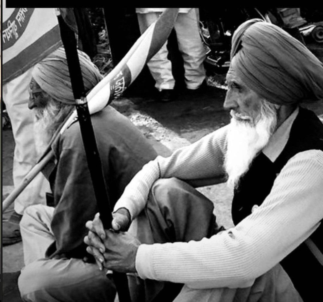 ਸਦਕੇ ਜਾਵਾਂ ਸਾਡੇ ਬਜੁਰਗਾਂ ਦੇ 🙏 #Respect 🙏 #FarmerProtest  #standwithfarmerschallange