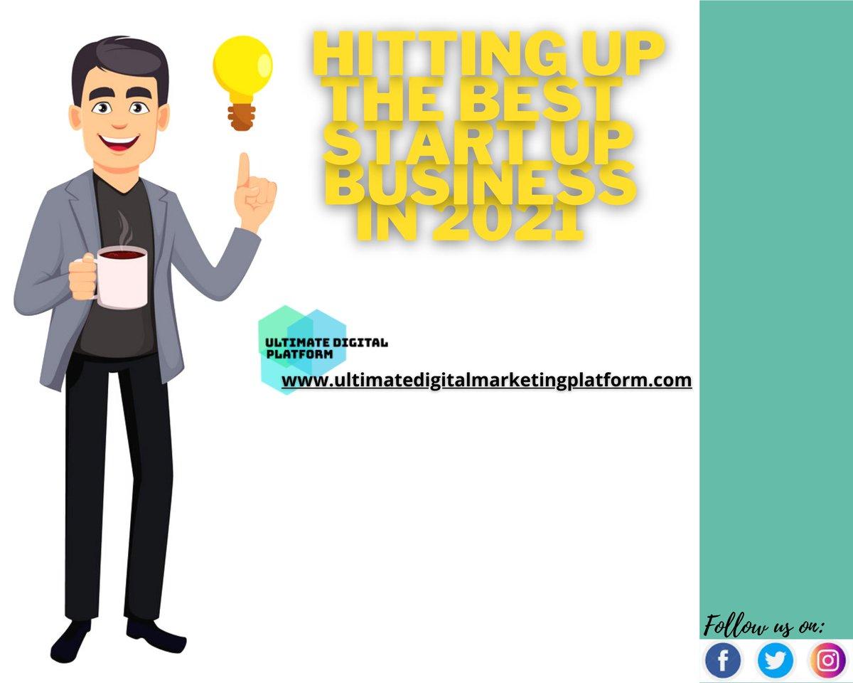 Hitting up the best #startupbusiness in 2021  #business #BusinessIntelligence #businessowner #businesstips #entrepreneur #EntreprenuerMind #Starting #ecommercebusiness #ecommerce #rewardyourself #businessadvise #entreprenuers #mindsetiseverything #success #DigitalPlatform https://t.co/CtQaNf0blv