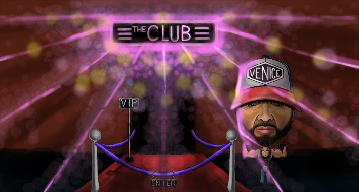 There I was wondering around #Twitch last night as I do, and @ZherkaOfficial was in the #Zherka #VRChat #FLEXING #VIP in #TheClub!  #ART #TwitchArt #ZherkaFlex https://t.co/L4thDtbFgC