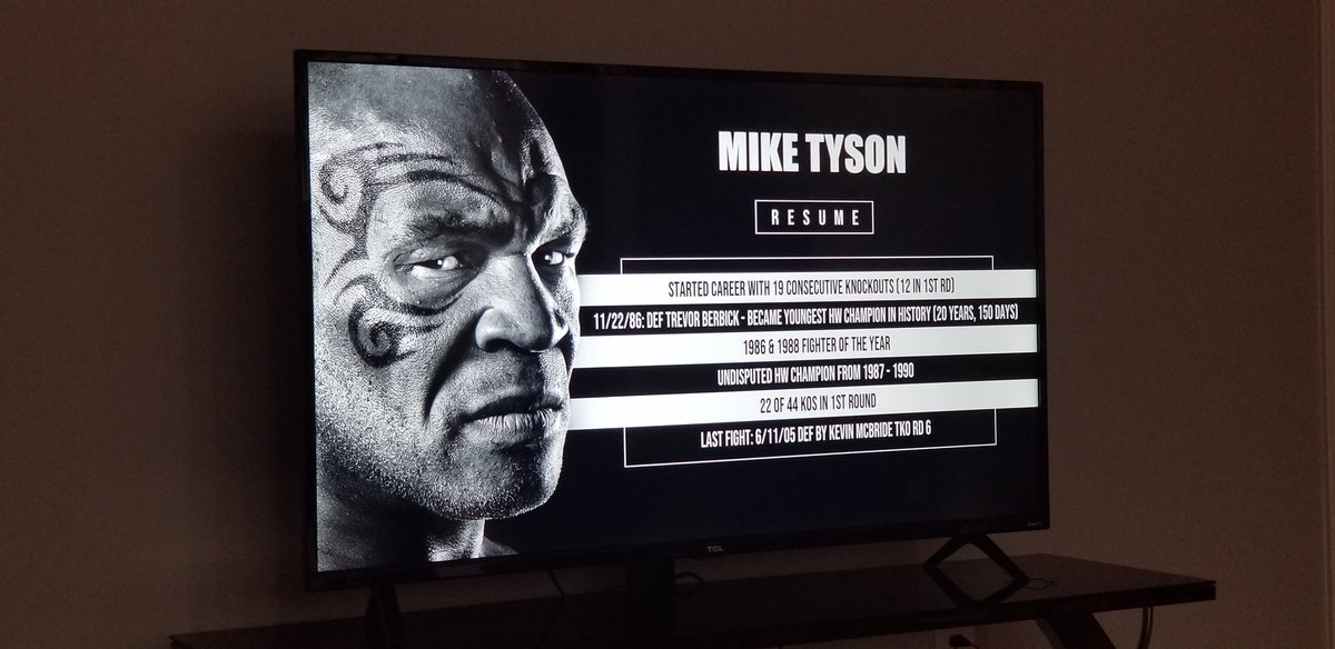 About to see TYSON fight again!   #miketyson #fightnight