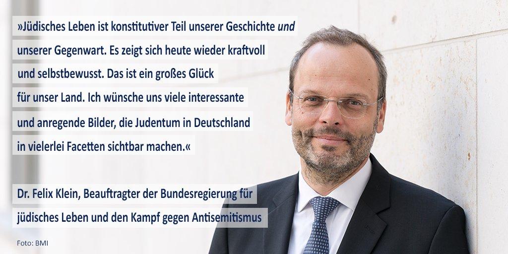 Image for the Tweet beginning: Dr. Felix Klein, #Antisemitismus-Beauftragter @BMI_Bund,