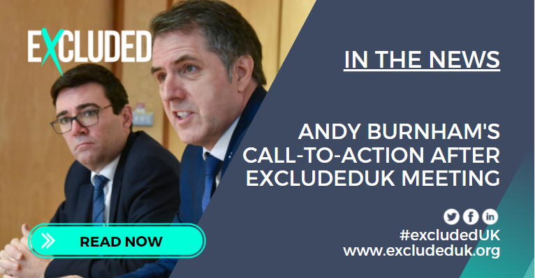 Andy Burnham writes in todays Times with a very accurate account of the range of emotions on show at recent #ExcludedUK media event, I have every reason to believe @rishisunak is a good man who listens and cares but now is the time for him to show it. hubs.ly/H0B1Ggk0