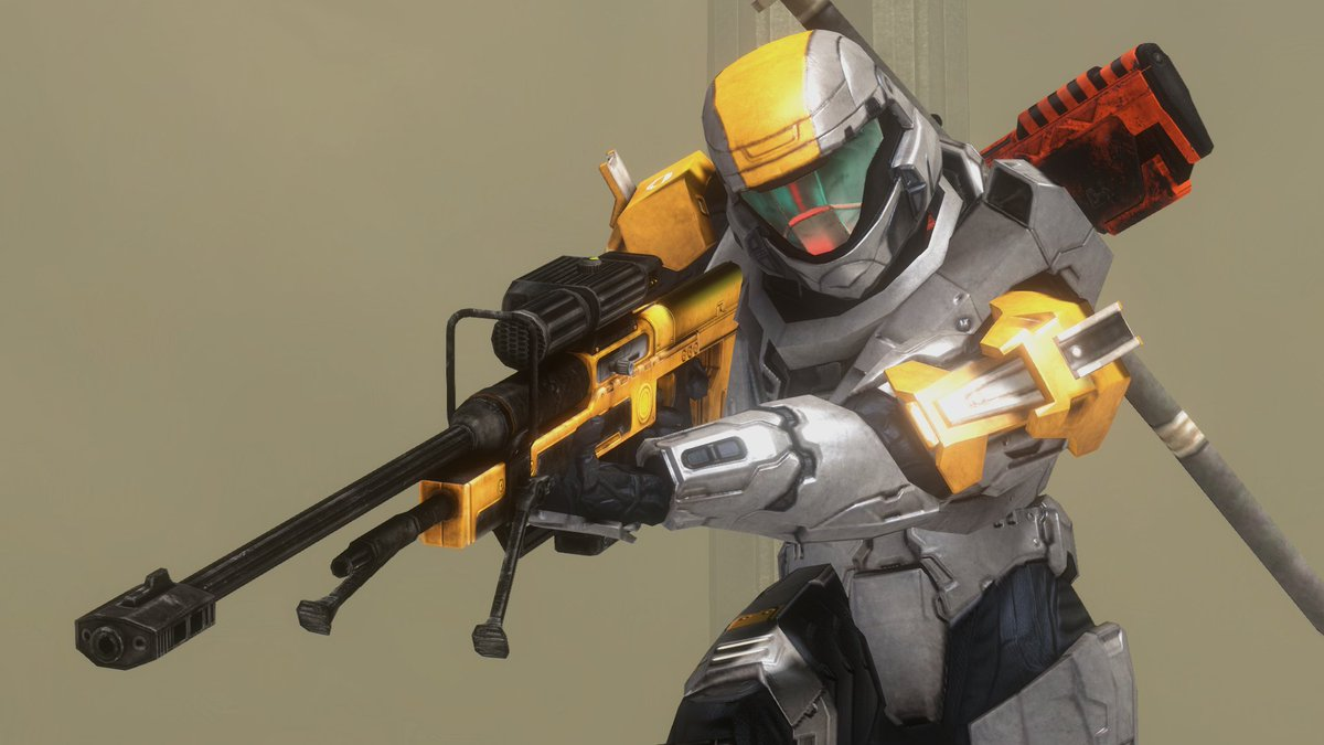 UberNick - A golden sniper is all I've ever needed in Halo 3 tbh