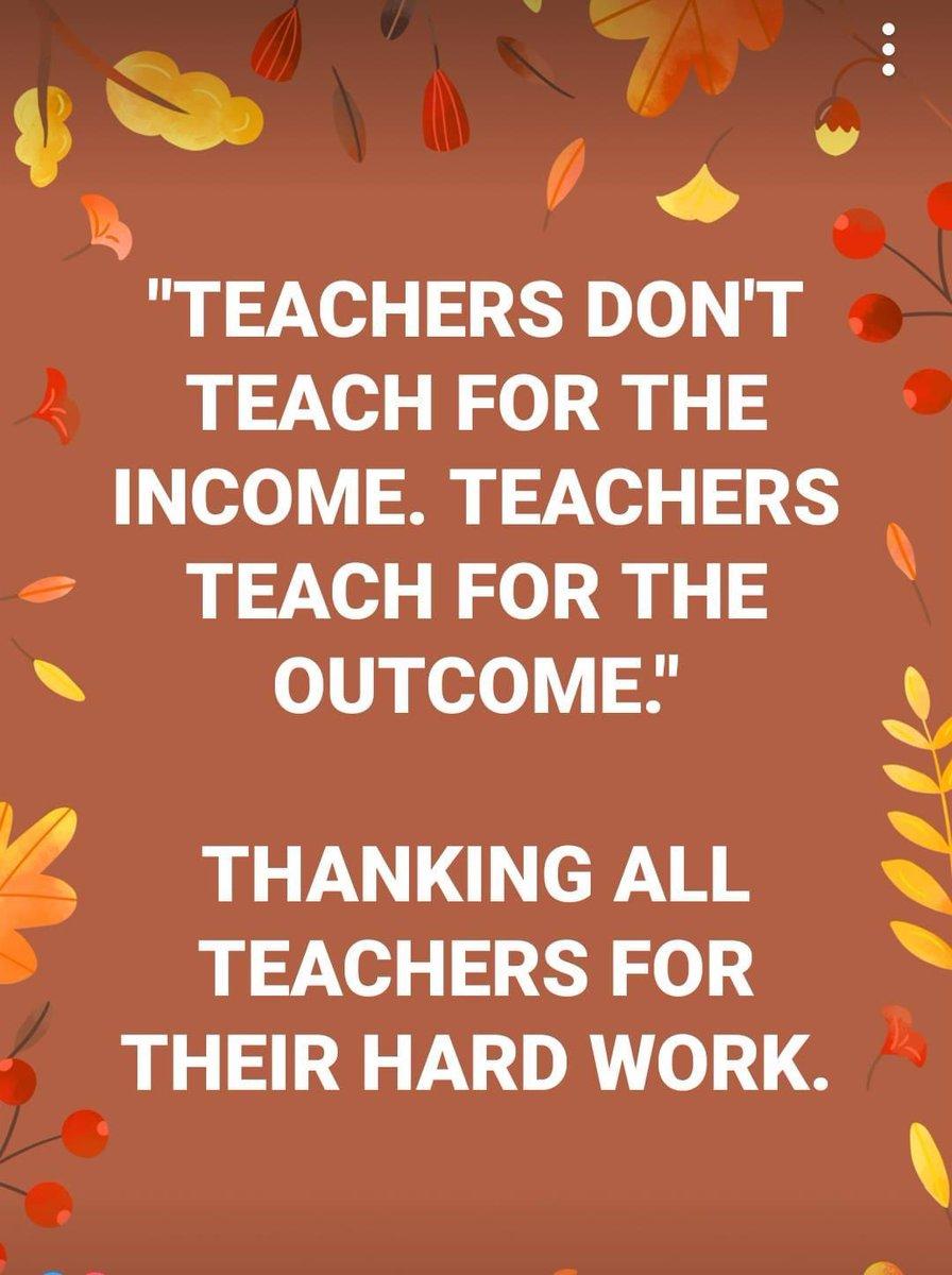 Always grateful for our educators!
