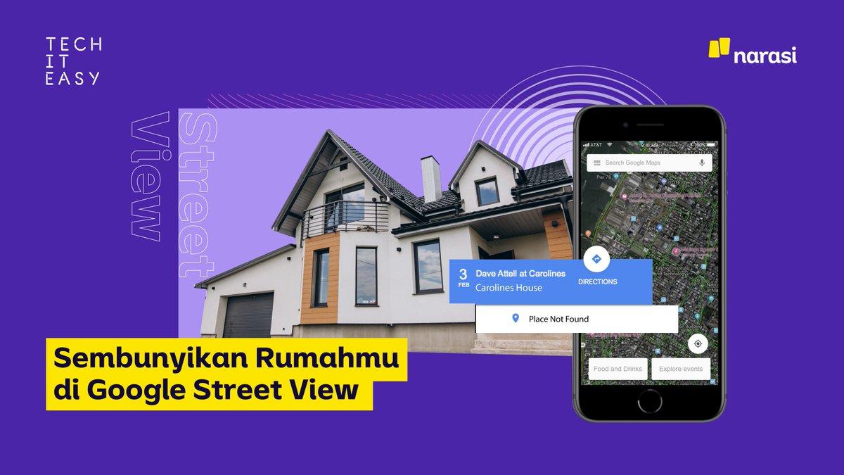 Privasimu terganggu karena foto rumahmu nongol di Google Street View? Tenang, Narasi kasih bocorannya nih agar kamu bisa buramkan foto rumahmu.  #TechItEasy #NarasiTech #bergerakdari #Narasi