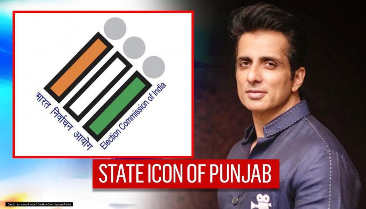 Sonu Sood named State Icon Of Punjab by Election Commission