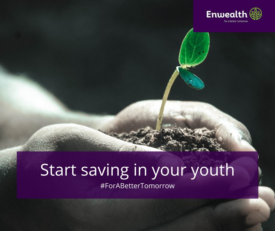 Start your pension savings when you are young. The younger you are, the more time you have to save. Feel free to reach out to us, DM us, or call us on +254 208160312/ +254 788 617443 or email us on info@enwealth.co.ke. #SavingsPlan #ForABetterTomorrow https://t.co/MKxvRZigEH
