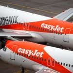 Image for the Tweet beginning: Pandemic pushes EasyJet to annual