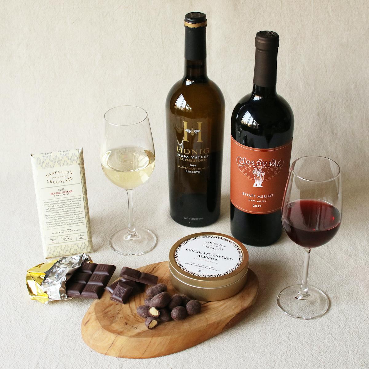 12月13日(日)に、「ワイン × チョコレートのオンライン・ペアリング・ワークショップ」を行います。こちらはアメリカ・カリフォルニア州を拠点とする、550以上のワイナリーが加盟する非営利生産者団体であるナパヴァレー・ヴィントナーズとの共同開催です。