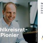Image for the Tweet beginning: Der erste Wahlkreisrat-Pionier ist @ThomasHeilmann