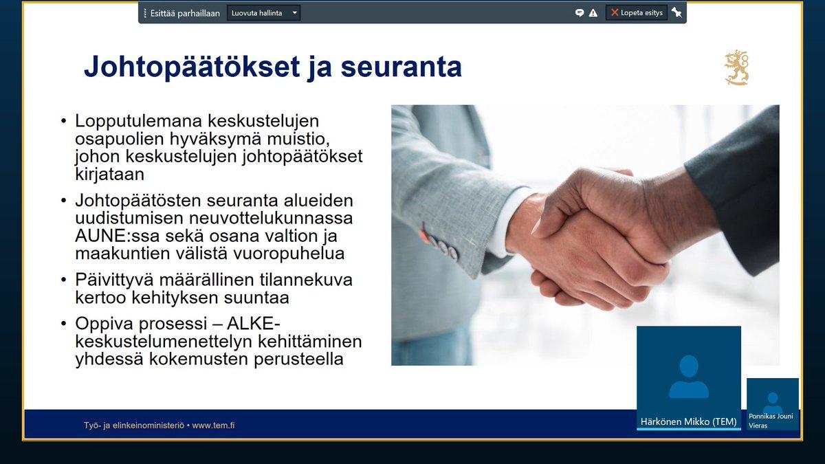 Aluekehityskeskustelun tämän vuoden kierros tehty. @Kainuunliitto on erittäin motivoitunut keskustelun aiheiden (osaava työvoima, saavutettavuus, yritysten rahoitus ja investoinnit) jatkoedistämiseen valtioneuvoston ja Kainuun yhteistyönä. @TEM_uutiset @KainuunELY @MarjaPihlman