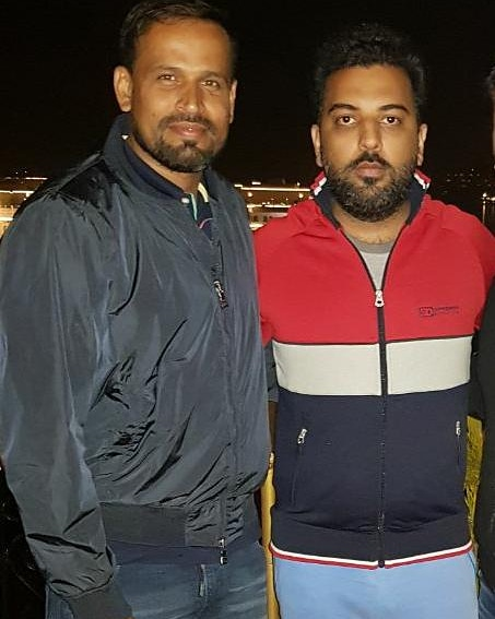 Happy Birthday to the legend and one of my dearest friends @iamyusufpathan Bhai. Even though you are another year older you remain a child at heart which is truly inspirational. Always remember that growing up is optional. #HappyBirthdayYusuf