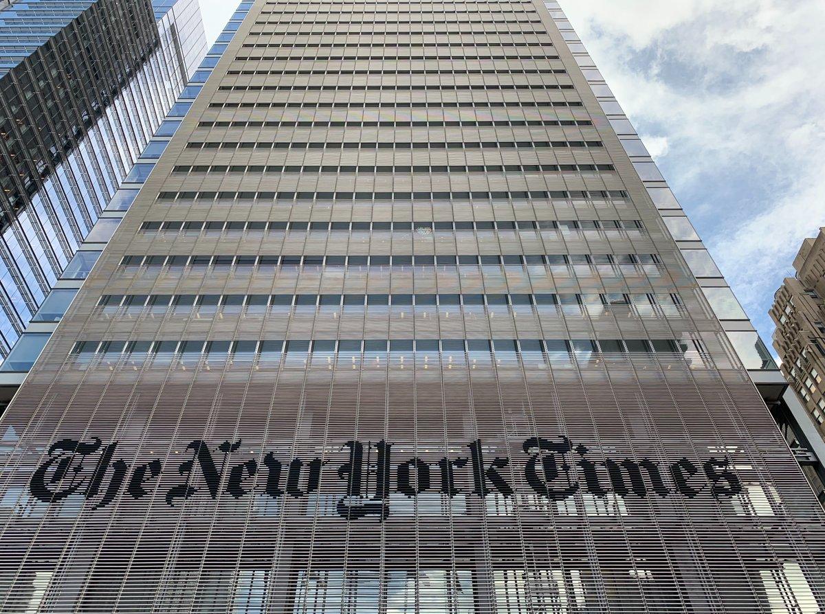 📣Le @nytimes propose un stage au sein de son bureau parisien, pour une période de 3 à 6 mois. Avec la possibilité d'écrire pour la rubrique Culture et travailler avec la journaliste @LizAldermanNYT  https://t.co/XyGsFPm5xD   #journalisme #stage https://t.co/jXiSJH7rGU
