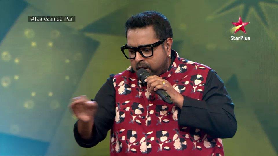 Mentor Shankar is setting the stage on fire with the little champs. #TaareZameenPar, Mon-Sat at 6.30pm only on StarPlus and Disney+ Hotstar.    @Shankar_Live @jonitamusic @TonyKakkar @mishrasugandha @OptimystixMedia #AakritiSharma