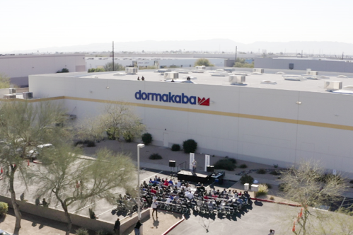 dormakaba recently received @SRPconnect's inaugural Champions of Energy Efficiency award for its electric technology project.  https://t.co/174HDcVjL4  #dormakaba #championofenergy #energyefficiency #phoenix #leanmanufacturing #manufacturing #accesscontrol https://t.co/eMgxXNm026