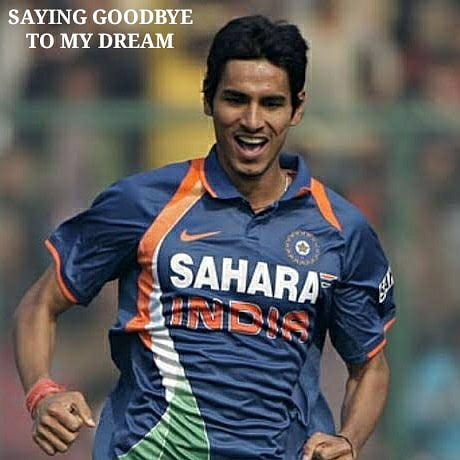 This is the most difficult decision i ever made , to say goodbye to my dream .   #sudeeptyagi #teamindia #indiancricket #indiancricketer #bcci #dreamteam #ipl