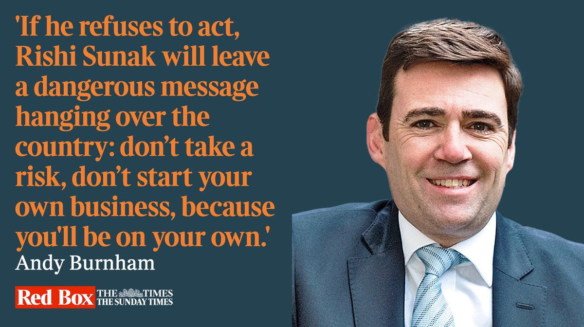 The chancellor must step in to help freelancers, writes @AndyBurnhamGM bit.ly/3f4CAWx
