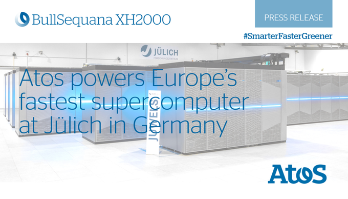 🔝 It's official!#JUWELS, the BullSequana XH2000 supercomputer operated by the Jülich...