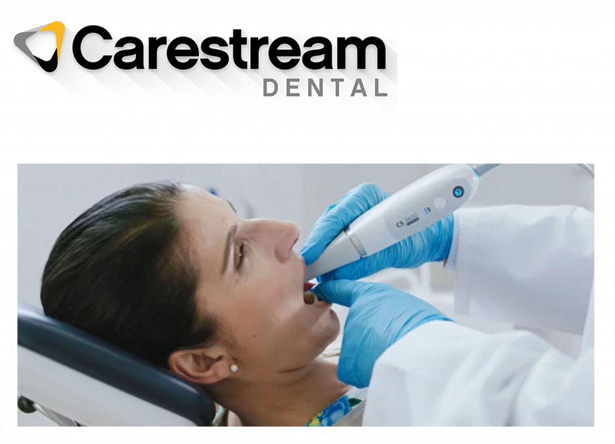 Go with the flow https://t.co/hfQhiGHseU Intraoral scanning has evolved with the CS 3700 intraoral scanner from Carestream Dental.  Featuring a prestigious design by Studio F. A. Porsche, the scanner offers turbo-speed scanning, patient- and practitioner-centric workflows, i... https://t.co/XKZXDNHKa8