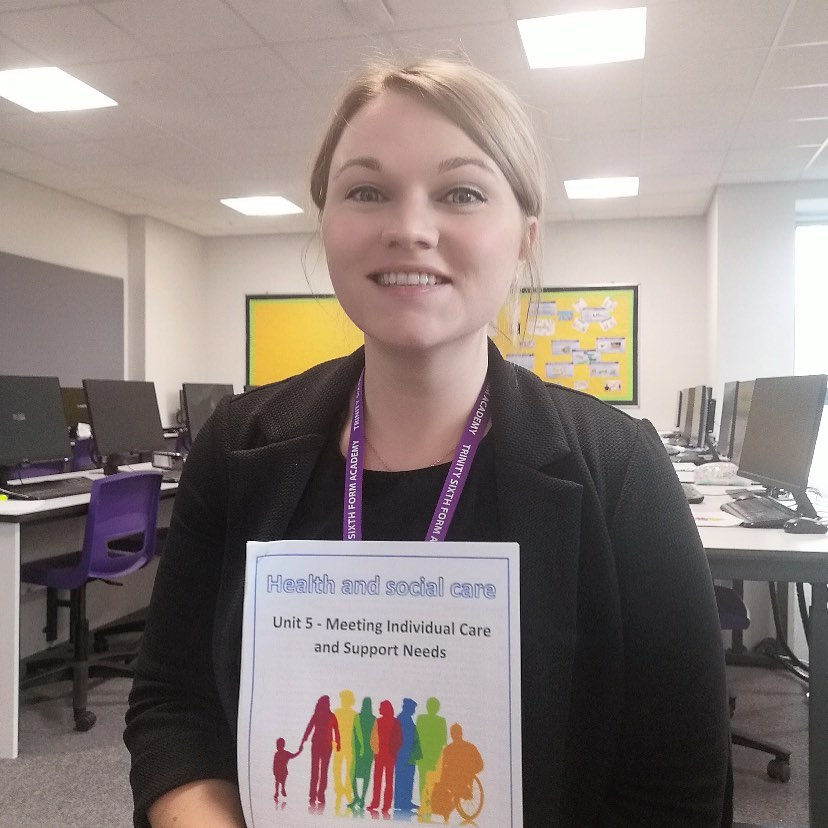 ✨ Meet the Team ✨ Mrs Rowbotham teaches Health & Social Care at TSFA. She studied BA Sociology & Criminology at University. She has worked at TSFA for 8 years teaching Health and Social Care & Sociology. She is also an examiner for BTEC Health and Social Care! #MeetTheTeam