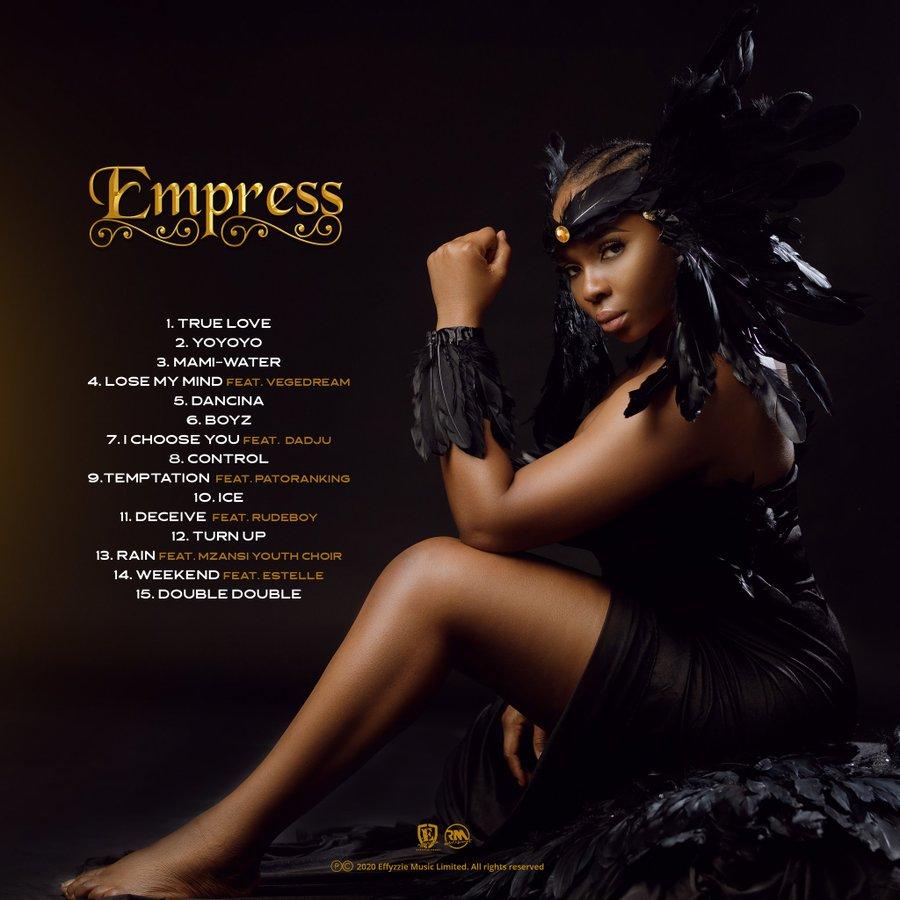 Yemi Alade readies her fifth studio album 'Empress' – 20-11-20