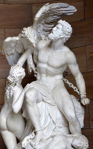 """Tarih Sanat Mitoloji📜🏛🔱 on Twitter: """"Eğer etten ve kemikten olan tanrılara inansaydım o kesinlikle Prometheus olurdu :))… """""""