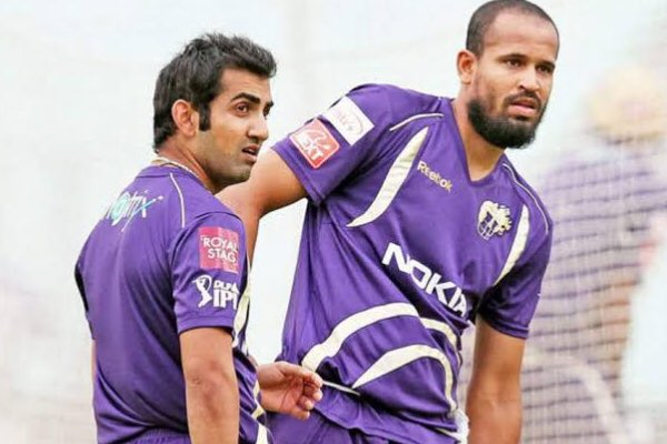 A very Happy Birthday to my dear friend and a wonderful teammate @iamyusufpathan! Lots of love always! Cheers