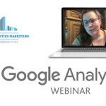 "Image for the Tweet beginning: 💻 The webinar on ""@GoogleAnalytics"""