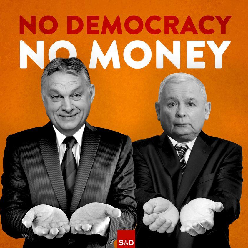 Die Blockade der national-konservativen Regierungen in Polen und Ungarn ist absurd und gefährlich. Mitten in einer globalen Gesundheitskrise, in der Menschen auch um ihr Einkommen bangen müssen, verweigern sie Hilfe - und schaden ihrer eigenen Bevölkerung. 1/4👇