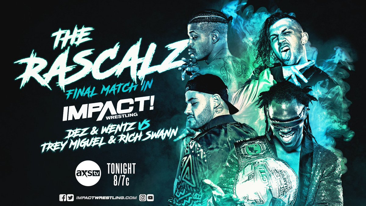 Impact Wrestling Results: Rascalz Take Their Final Bow In The Main Event, KO Tag Tournament Begins
