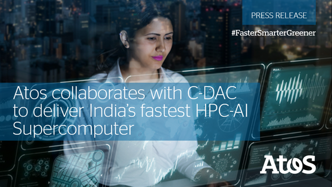 C-DAC's [@CDACindia] HPC-AI Supercomputer 'PARAM Siddhi - AI', integrated in collaboration w...