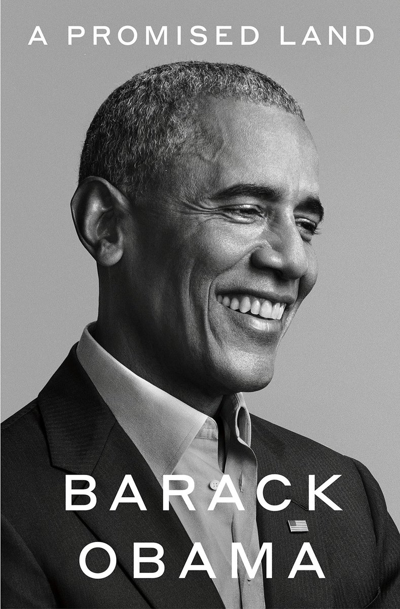 @BarackObama I promise I'll read it #ReadBooks