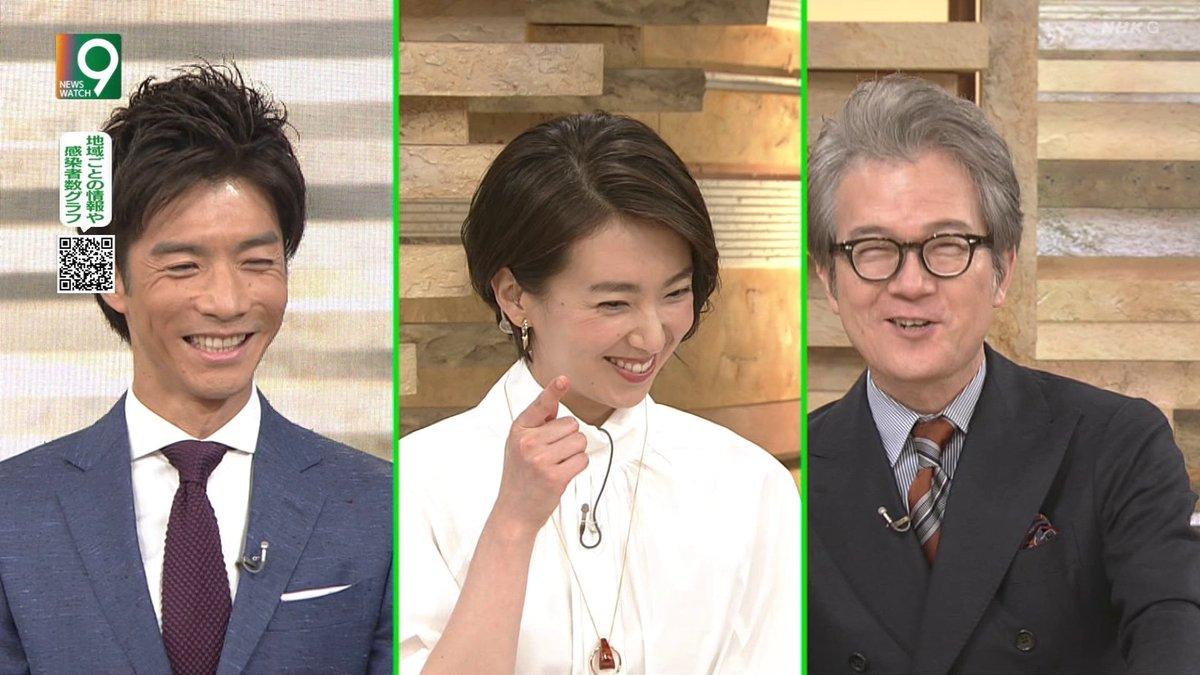 """おはまゆ على تويتر: """"和久田アナ「よろしく👉」 #NW9 #ニュース ..."""