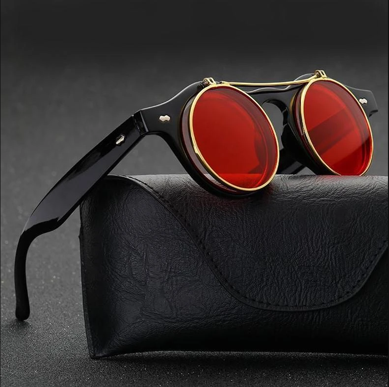 Who loves Vintage Sunglasses? 💀🖤😎 . You should check this out!!! Get it here! 👇👇 Vintage Round Steampunk Flip Up Sunglasses https://t.co/D8FUTPNhzJ . . . . . #SkullFlow #steampunk #vintage #round #flipup #sunglasses #retrostyle #retro #sunglass #eyewear #sunglasses