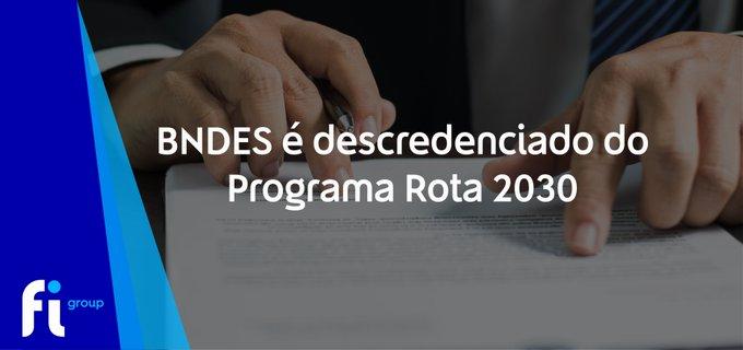 Publicada portaria que trata do descredenciamento do BNDES como Instituição Coordenadora de pr....