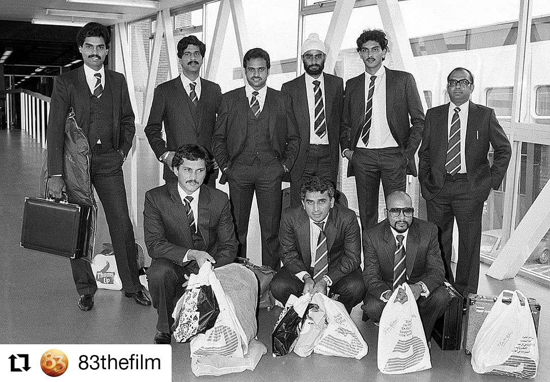 #83thefilm  @83thefilm • • • • • • Suits bhi, suitcases bhi! When Team 83 was all set to touch the sky!🧳🏏 #ThisIs83