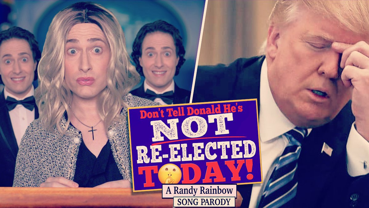 Replying to @RandyRainbow: BREAKING: Donald won and Kayleigh's feeling GREAT!!! 😬😬🍷  #NotReElectedToday