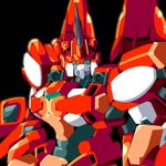 Image for the Tweet beginning: エクサランス・ストライカー #スパロボOG #SRWOG #スーパーロボット大戦OG #エクサランス
