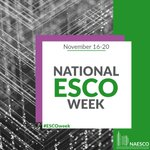 Image for the Tweet beginning: It's National #ESCOWeek! At McClure